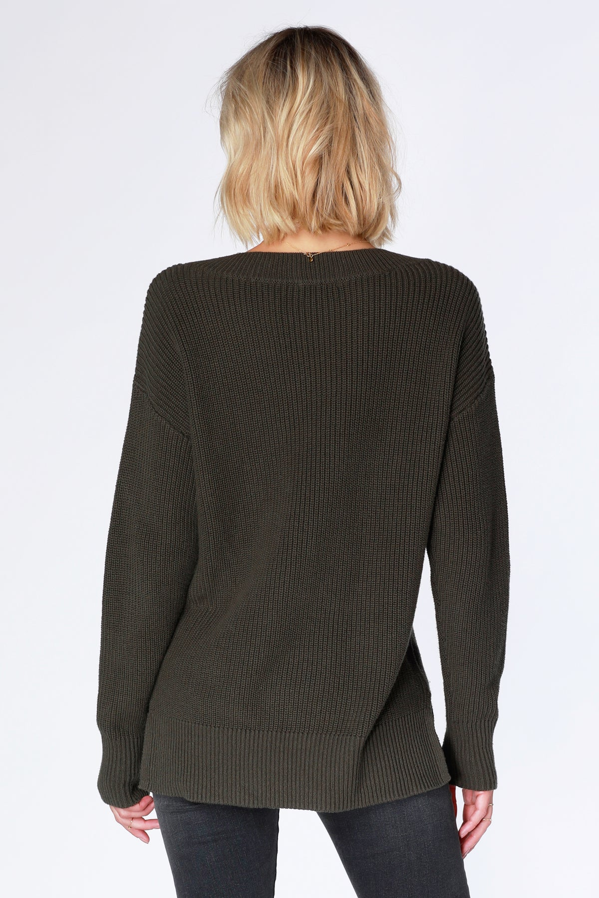 Boyfriend Sweater - bobi Los Angeles