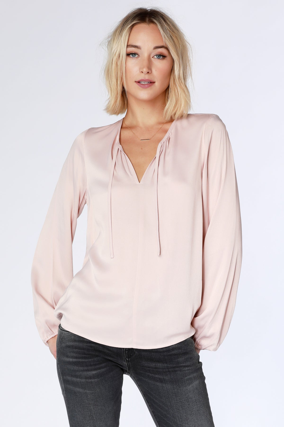 Peasant Blouse - bobi Los Angeles