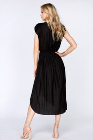 Knot Front High Low Dress - bobi Los Angeles