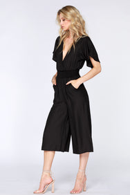 Cropped Boho Jumpsuit - bobi Los Angeles