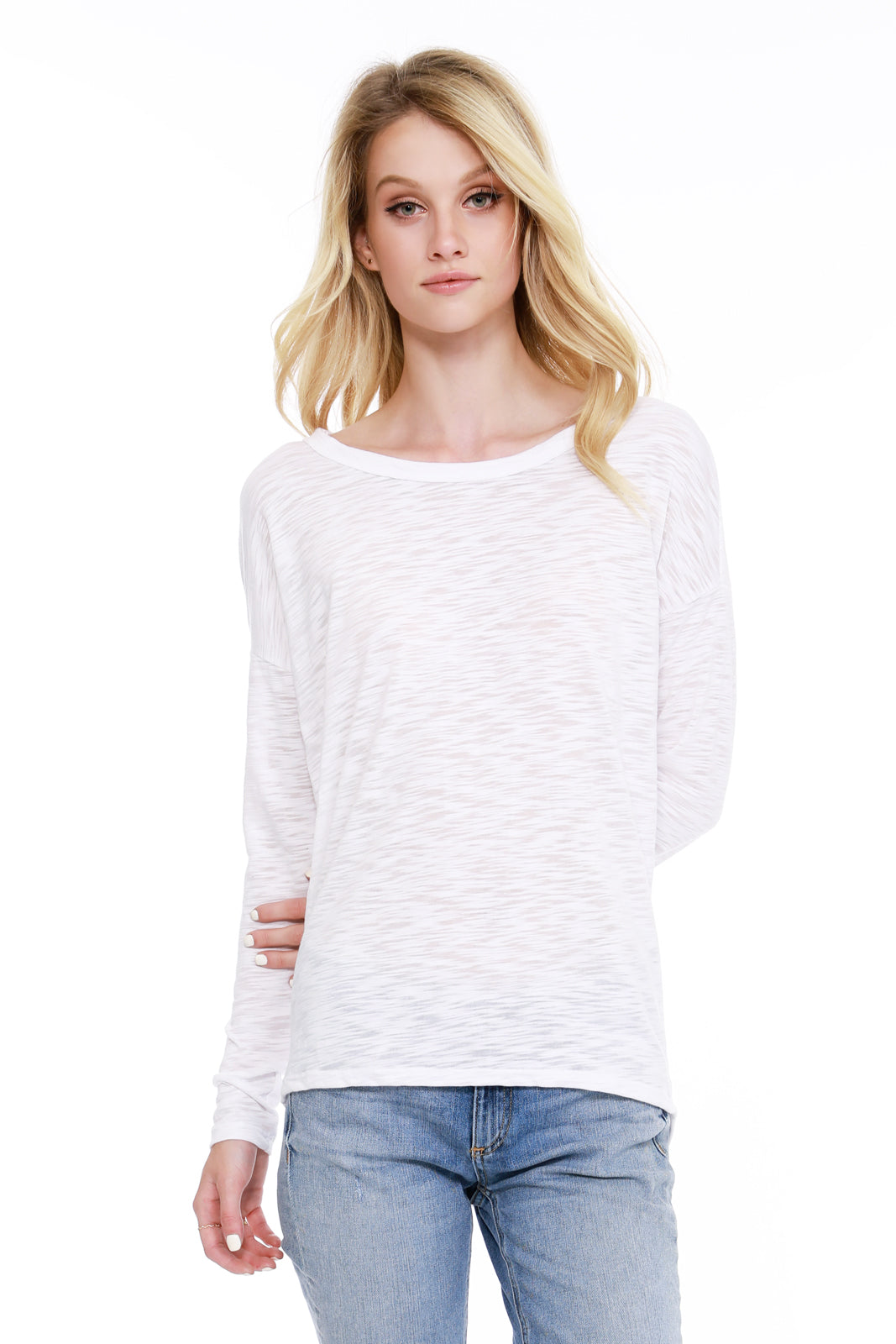 Cowl Back Top - bobi Los Angeles