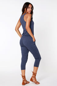 Racer Back Jumpsuit - bobi Los Angeles