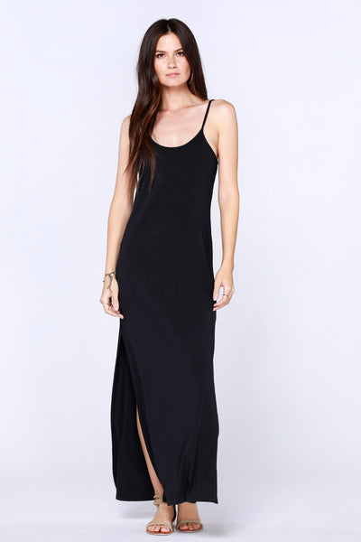 Low Back Cami Maxi Dress - bobi Los Angeles