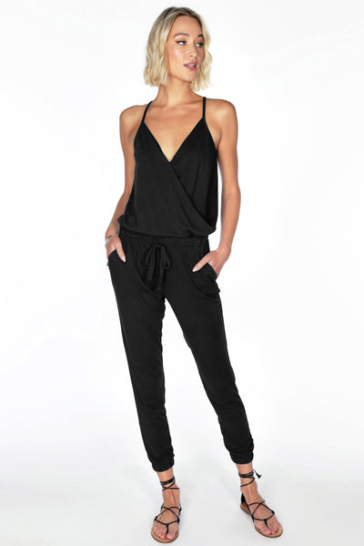 Cami Surplice Jumpsuit