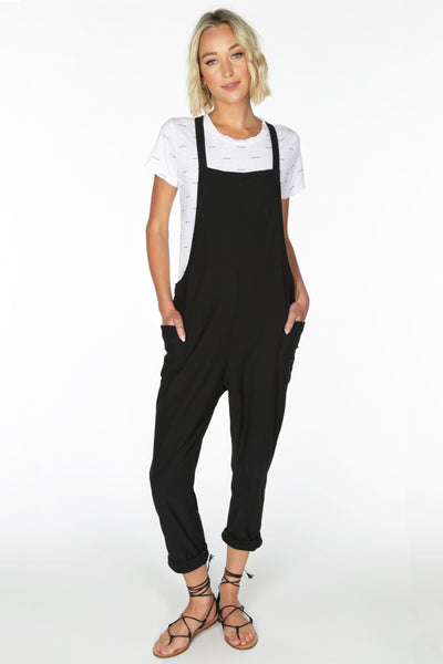 Knit Twill Overalls - bobi Los Angeles