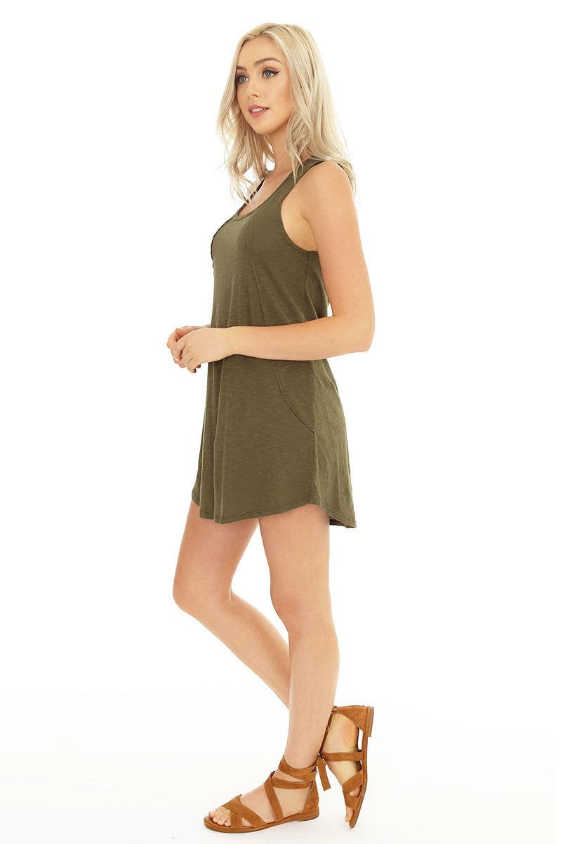 Swing Tank Dress - bobi Los Angeles