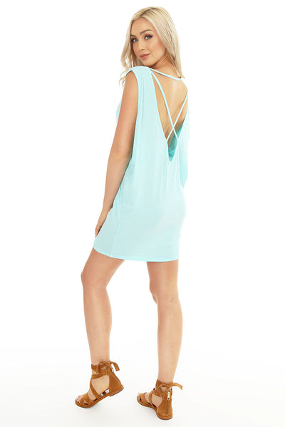Low Cross Back Tunic - bobi Los Angeles