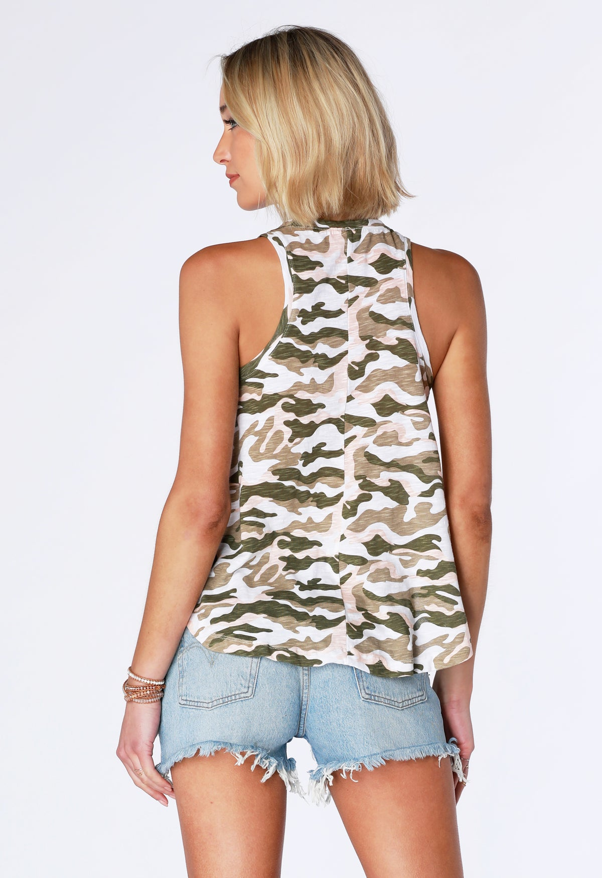 Camo Swing Tank - bobi Los Angeles