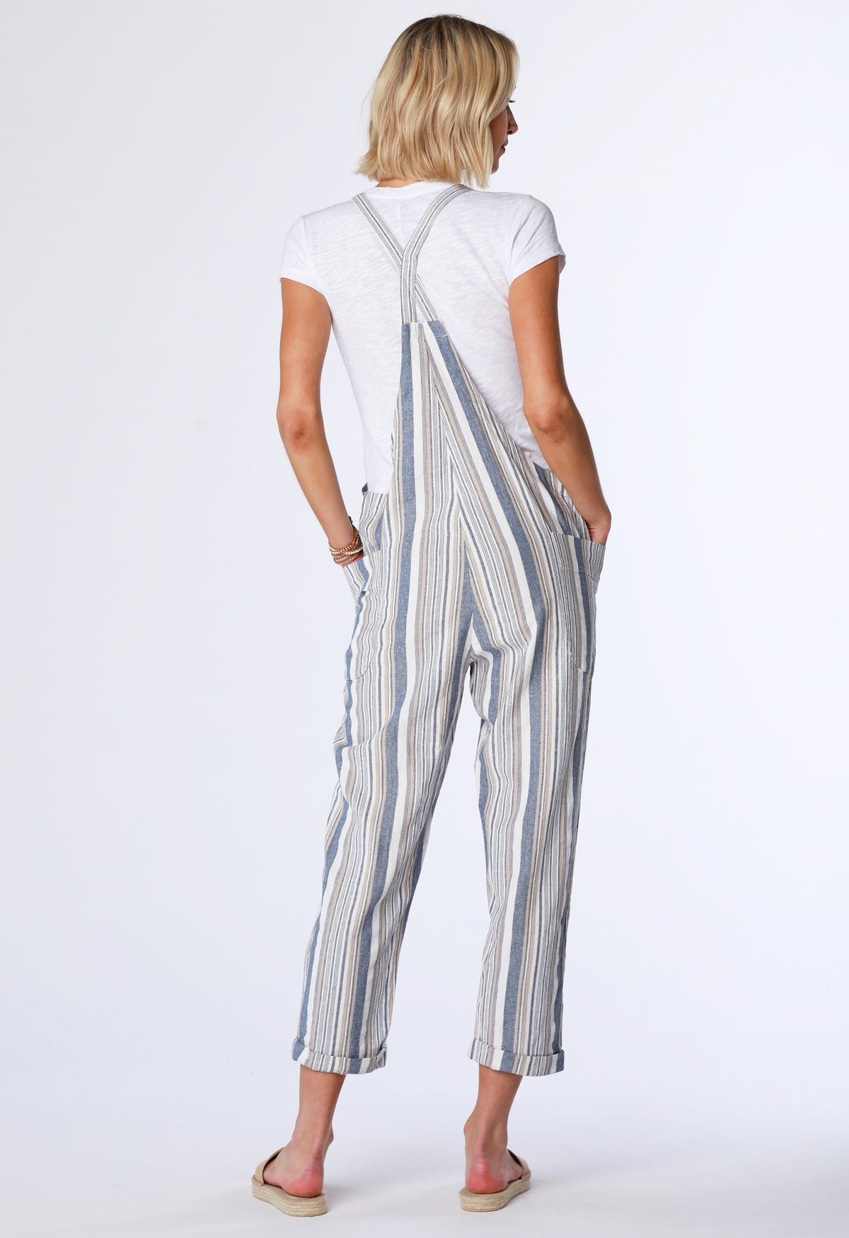 Stripe Overall - bobi Los Angeles