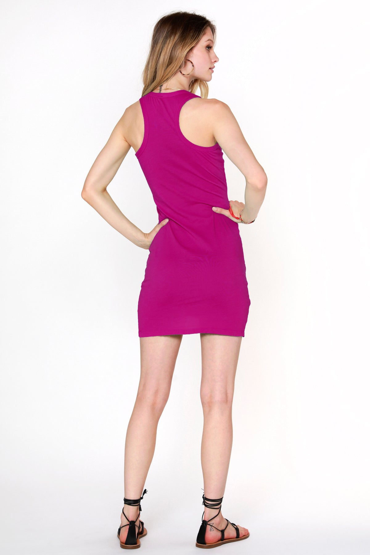 Surplice Tank Dress