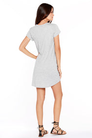Knot Hem T-Shirt Dress