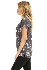 Burnout Raglan Top - bobi Los Angeles