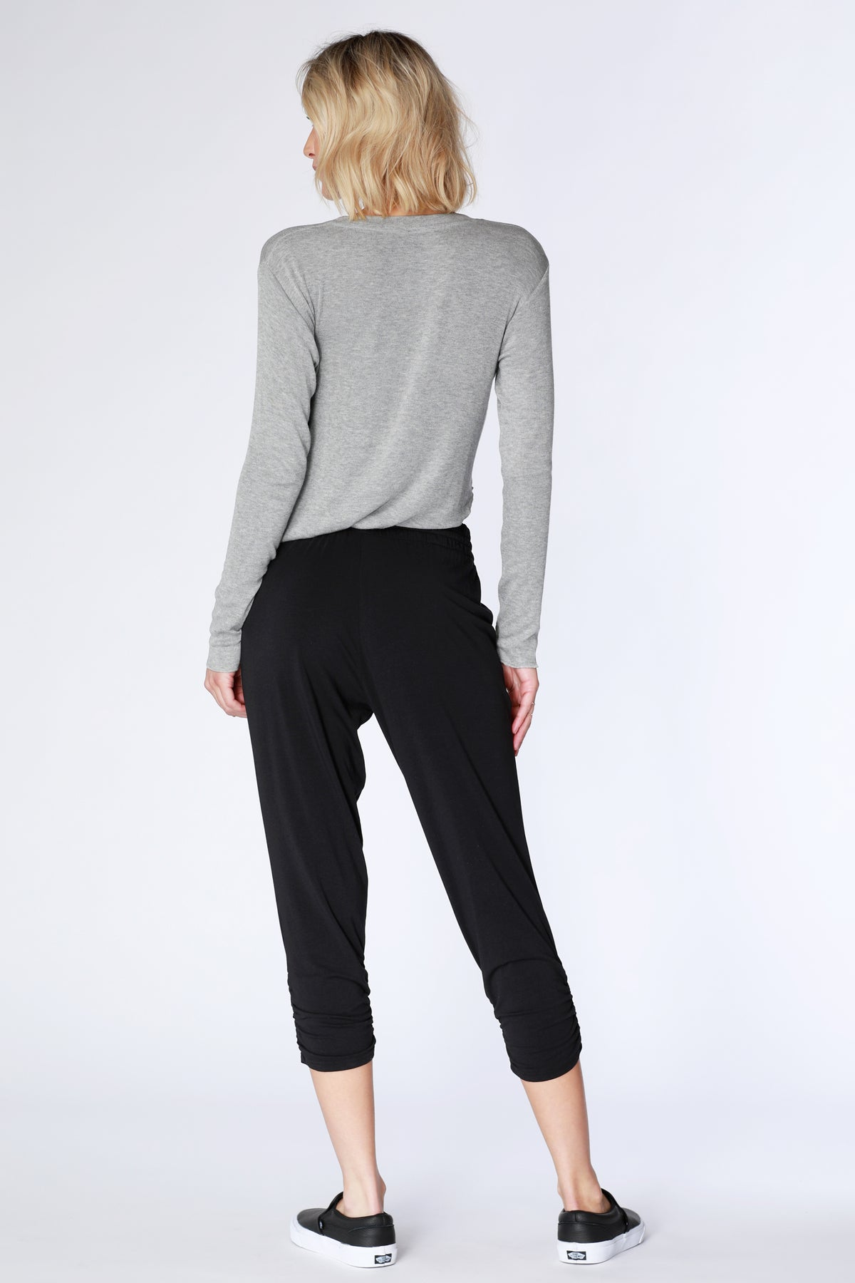 Shirred Leg Joggers - bobi Los Angeles
