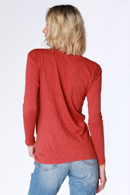 Long Sleeve Knot Tee - bobi Los Angeles