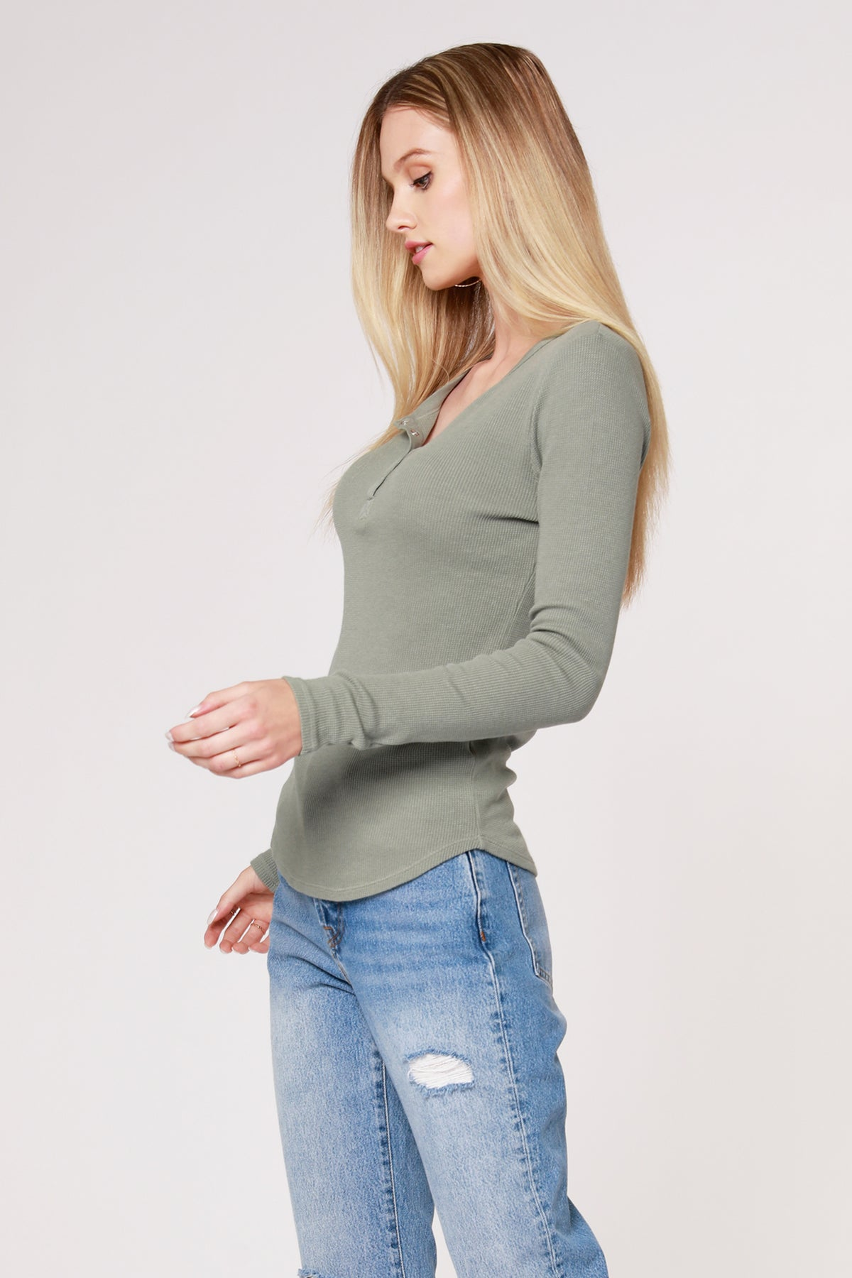 THERMAL SNAP HENLEY