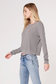 THERMAL BOXY LONG SLEEVE TOP
