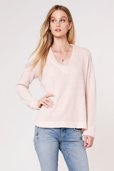 COZY V-NECK SWEATER