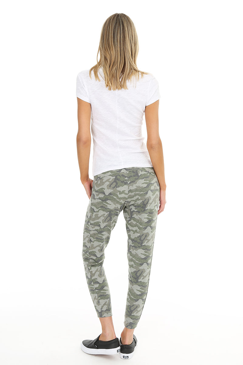 Camo Jogger Sweatpants - bobi Los Angeles