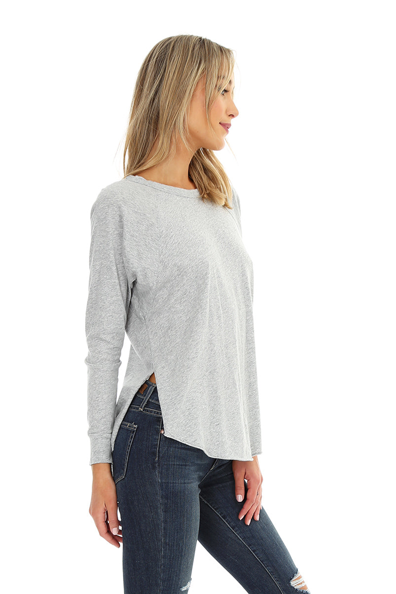 Long Sleeve Raglan Tee - bobi Los Angeles