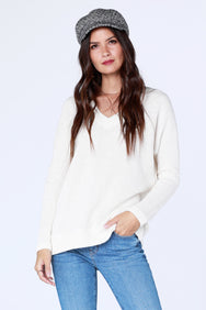 V-Neck Sweater - bobi Los Angeles