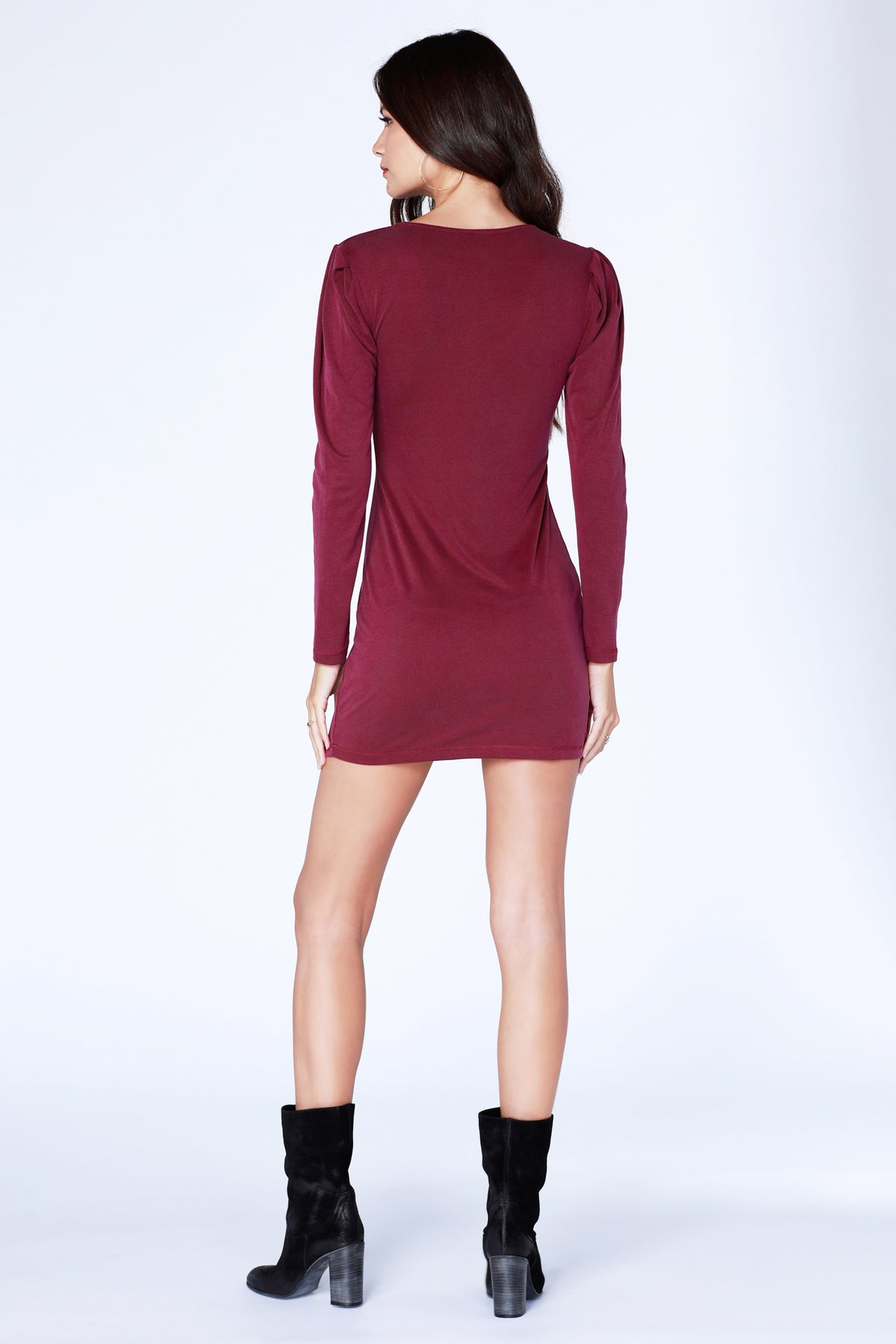 Date Night Puff Sleeve Dress