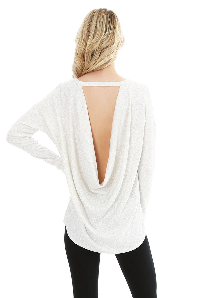 Back Cowl Top - bobi Los Angeles