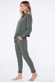 Sustainable Terry Cuffed Pant