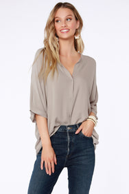 Dolman Button Down Shirt