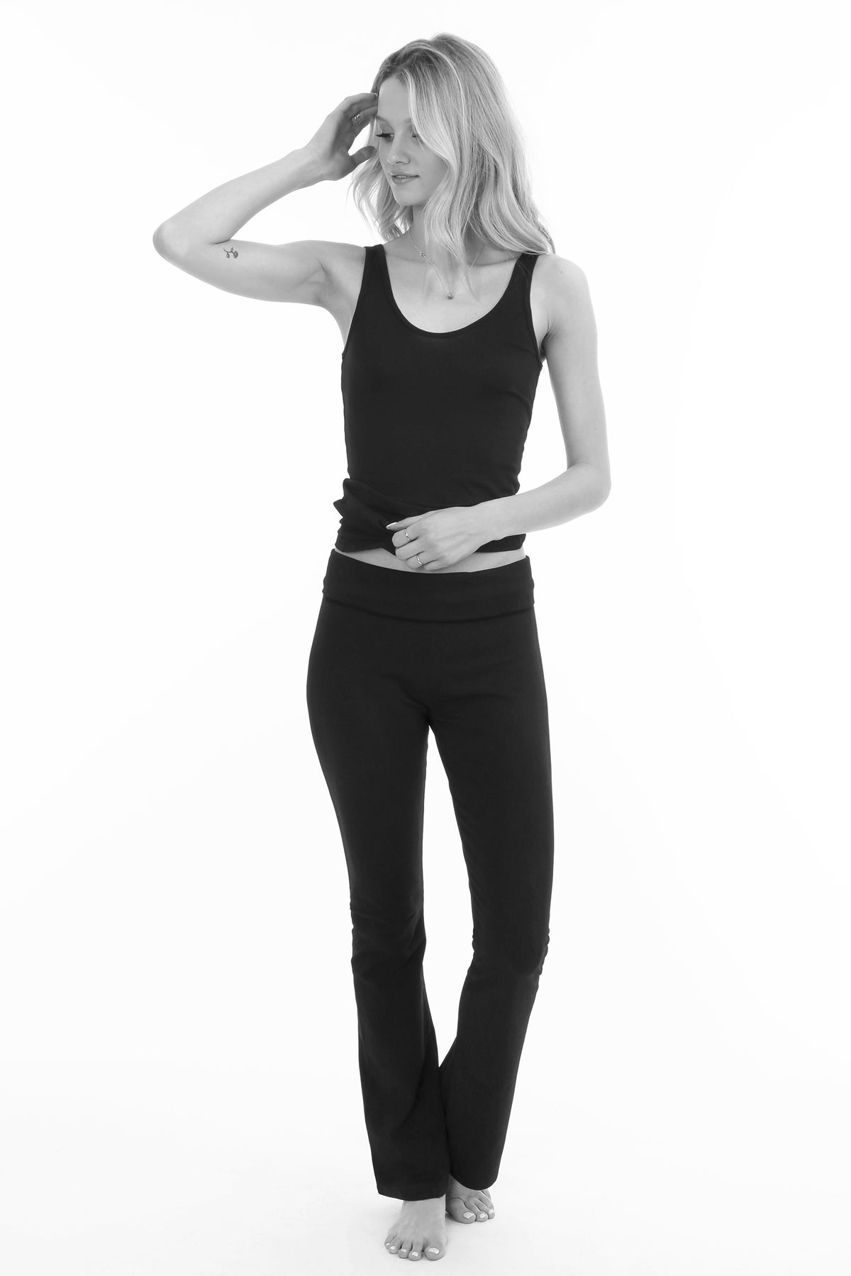 Boot Leg Athletic Pant - bobi Los Angeles