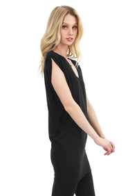SLIT SLEEVE TUNIC - bobi Los Angeles