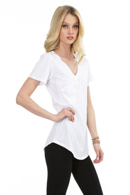 Boyfriend Pocket Tee - bobi Los Angeles