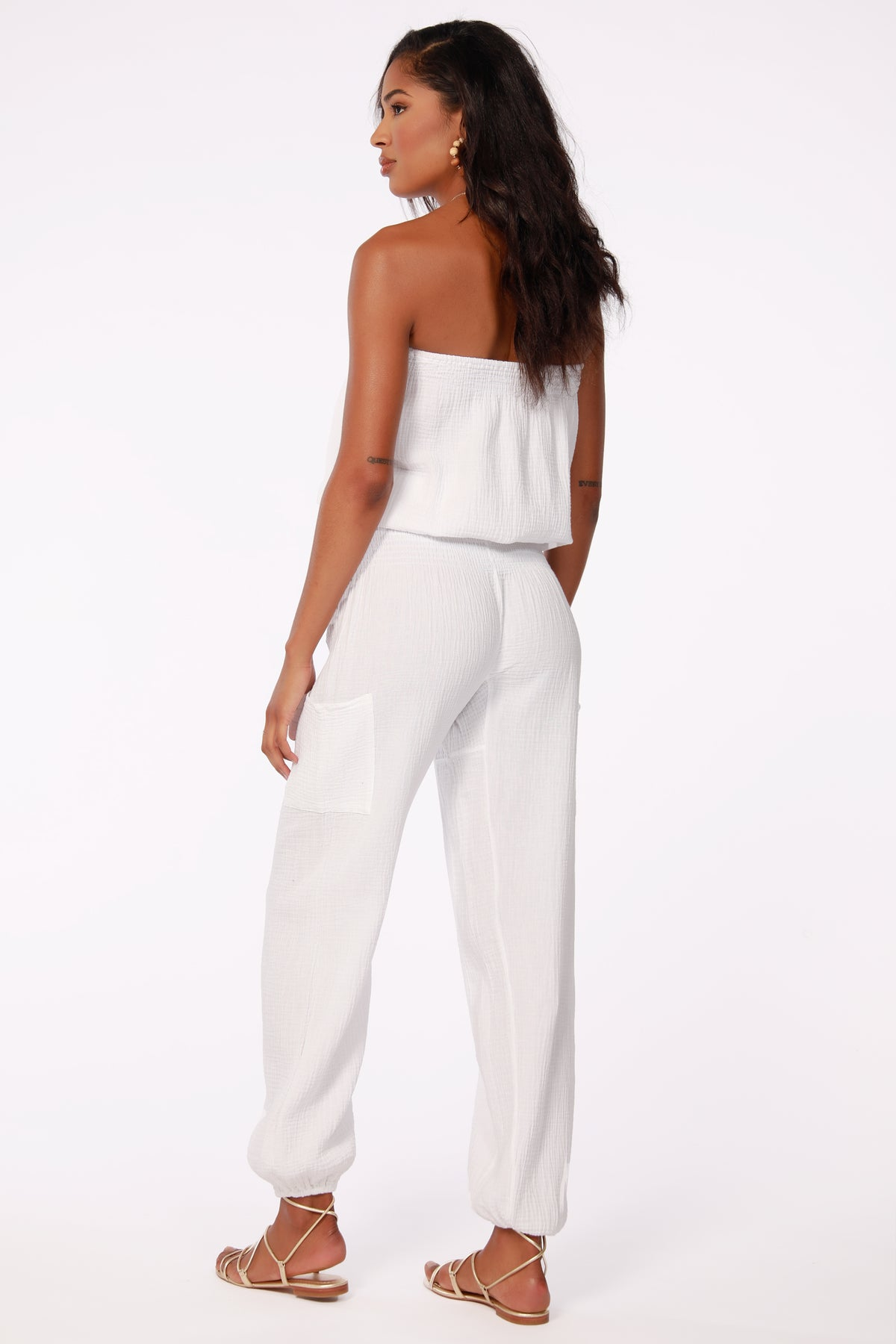 BEACH GAUZE POCKET PANT