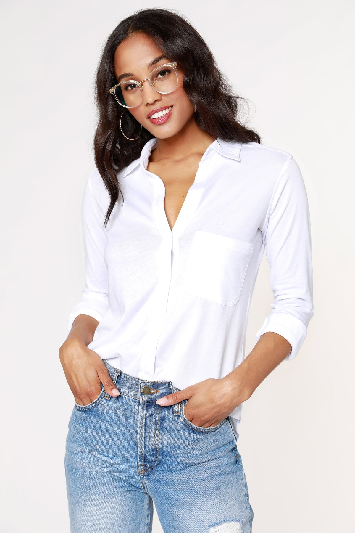 COLLAR POCKET SHIRT
