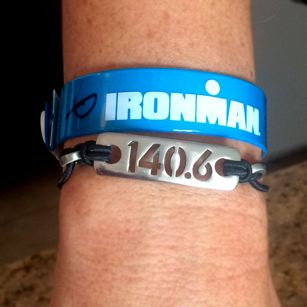 140.6 Ironman Triathlon Bracelet - ATHLETE INSPIRED Triathlon jewelry