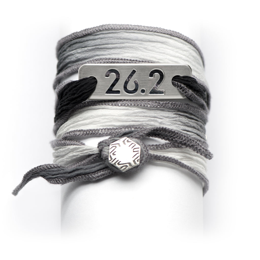 ATHLETE INSPIRED ® 26.2 Marathon Wrap Running Bracelet