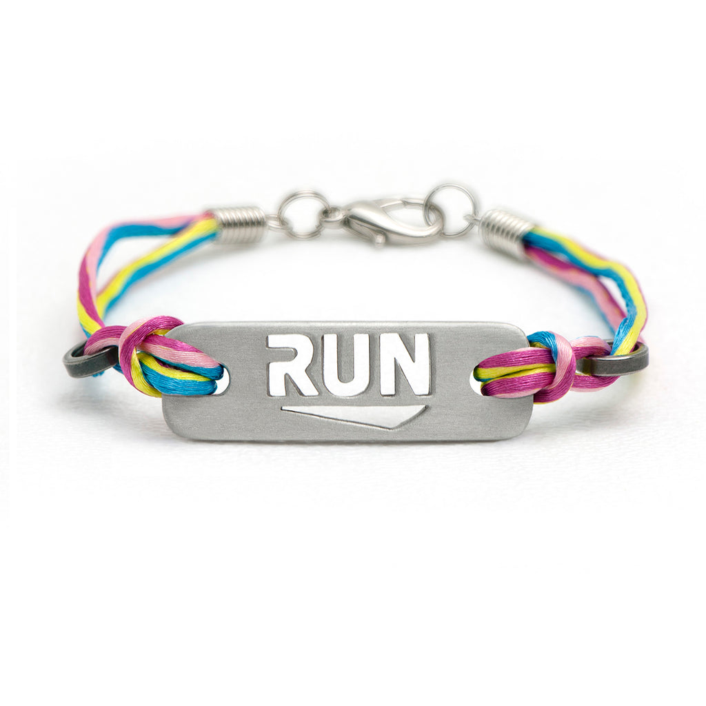RUN Multicolored Bracelet - ATHLETE INSPIRED Running Bracelet, running jewelry