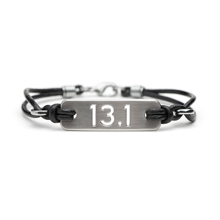 13.1 Half Marathon Running Bracelet - ATHLETE INSPIRED Running jewelry, run bracelet