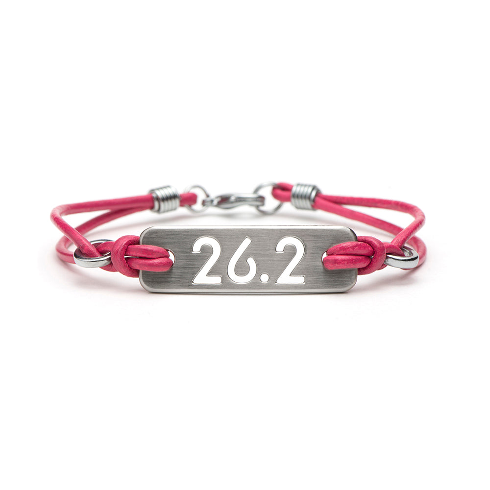 26.2 Marathon Running Bracelet - ATHLETE INSPIRED running jewelry