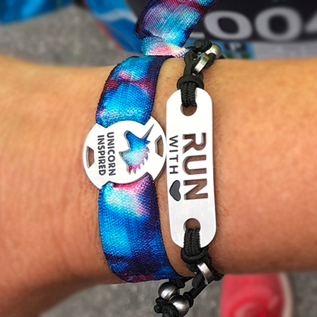 Run with Heart - ATHLETE INSPIRED running bracelet