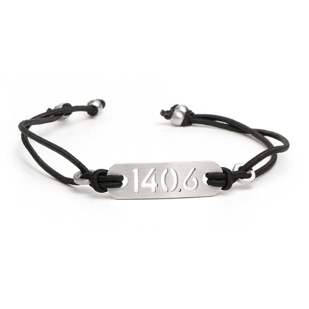 140.6 Iron Distance Triathlon Bracelet - Tie Stretch Adjustable