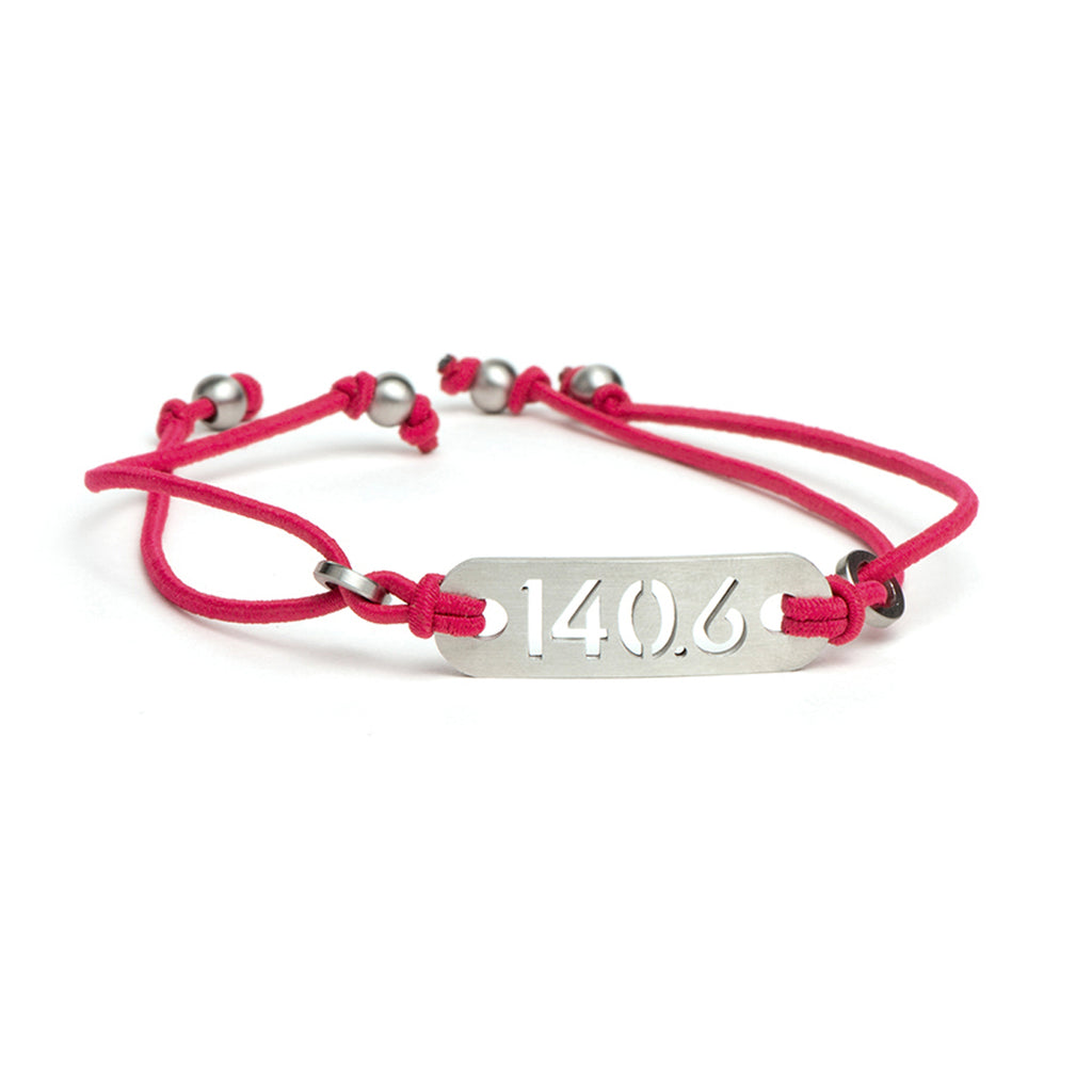 ATHLETE INSPIRED ® 140.6 Iron Distance Triathlon Bracelet