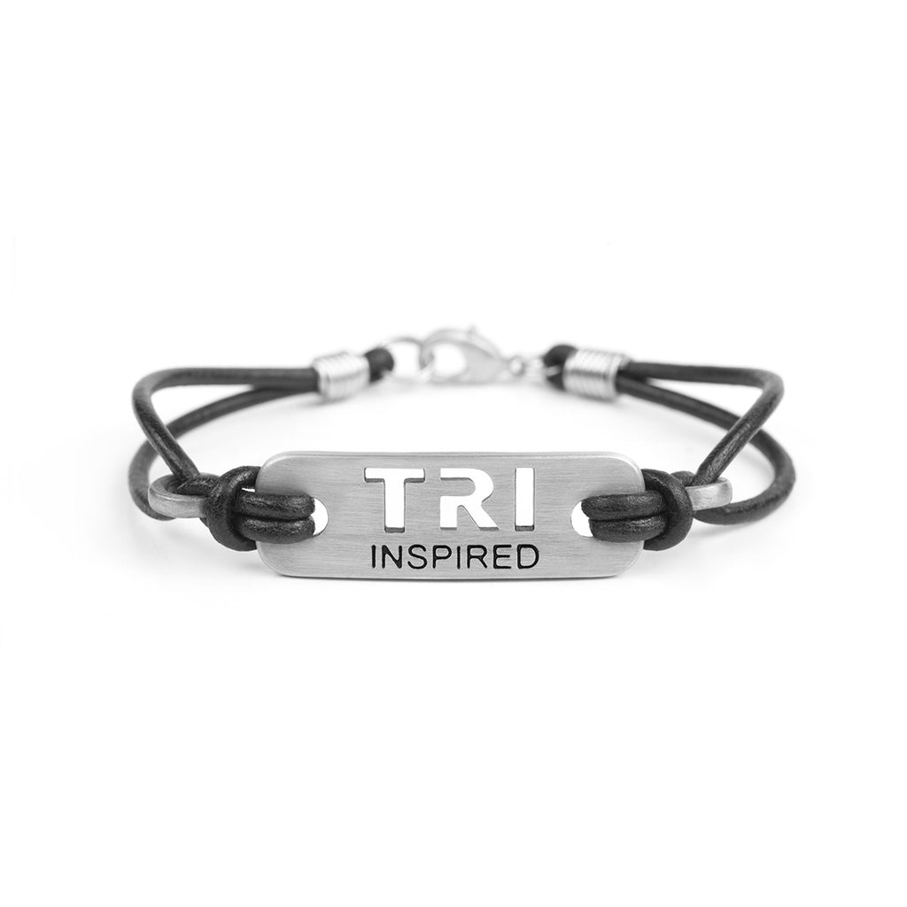 TRI INSPIRED Bracelet - ATHLETE INSPIRED - Triathlon Bracelet, Triathlon Jewelry