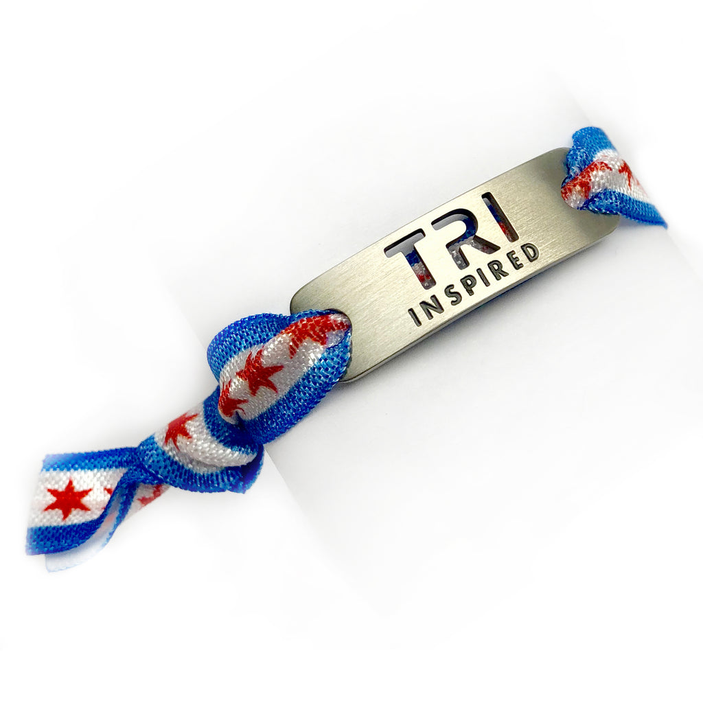 TRI INSPIRED - CHICAGO Bracelet - Adjustable