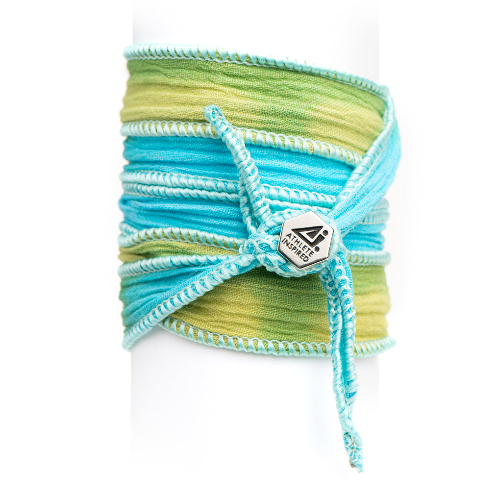 ATHLETE INSPIRED ® original Blended Button Wrap Bracelet