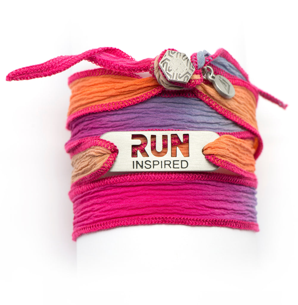 RUN Inspired Wrap Running Bracelet