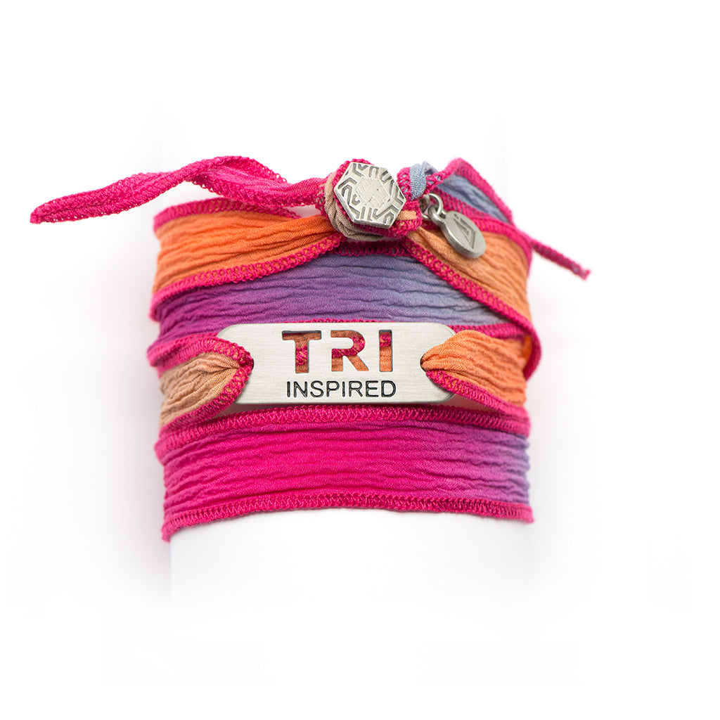 TRI Inspired Wrap Triathlon Bracelet