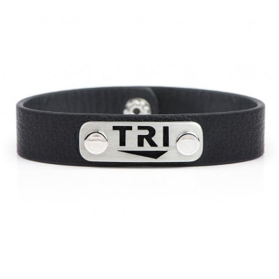 TRI Leather Wristband