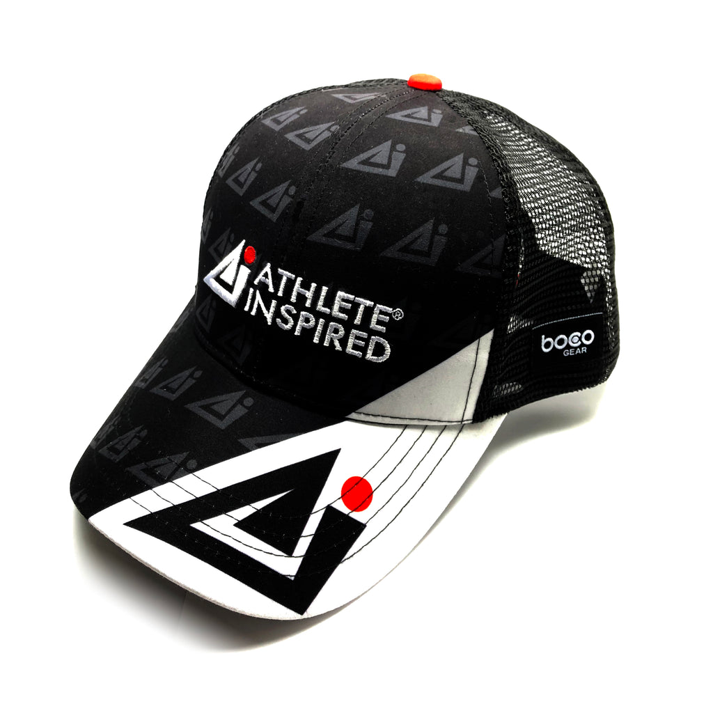 ATHLETE INSPIRED technical trucker hat