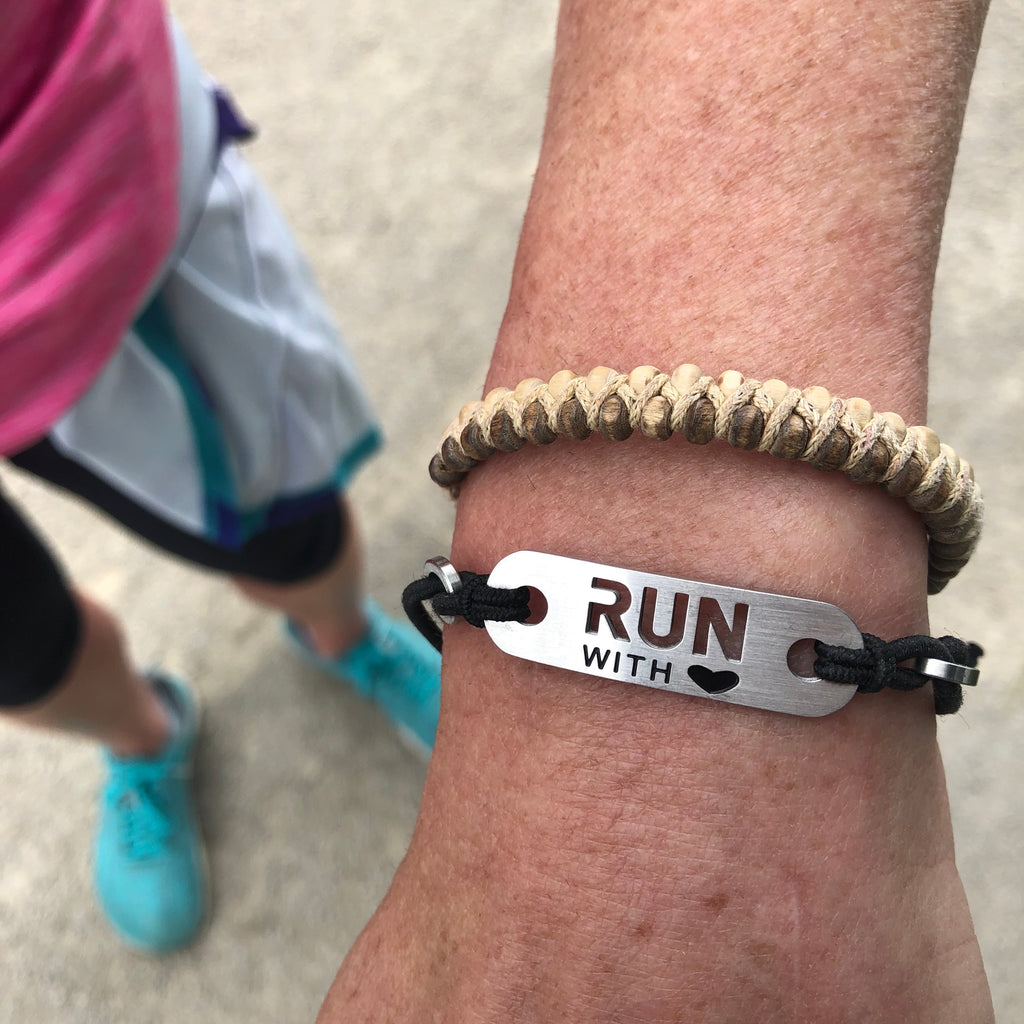 run with heart running bracelet