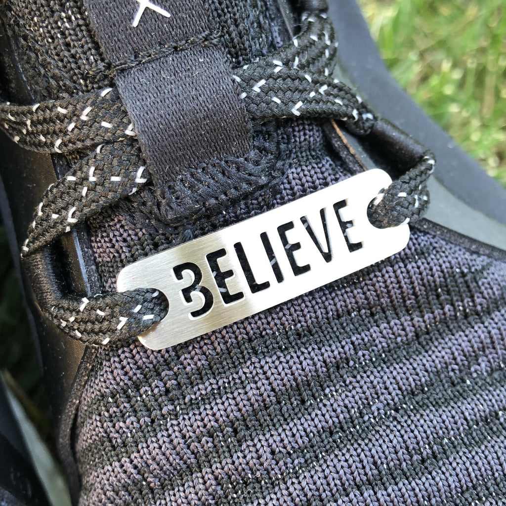 BELIEVE Shoe Tag